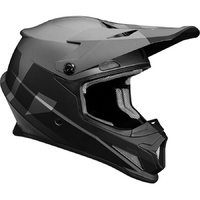 THOR 2018 SECTOR LEVEL MATTE BLACK/GREY HELMET