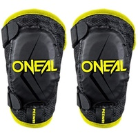 ONEAL KIDS PEEWEE BLACK/HI-VIZ ELBOW GUARDS