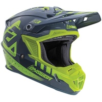 ANSWER 2018 AR-1 ACID/GREY KIDS HELMET