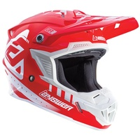 ANSWER 2018 AR-1 WHITE/RED KIDS HELMET