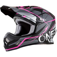 ONEAL 2018 3 SERIES FREERIDER BLACK/PINK KIDS HELMET