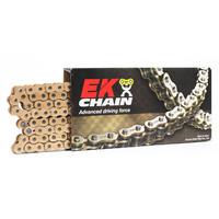 EK CHAINS 420 HEAVY DUTY GOLD 136L RACE CHAIN