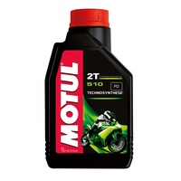 MOTUL 510 2T 1L SEMI-SYNTHETIC ENGINE OIL
