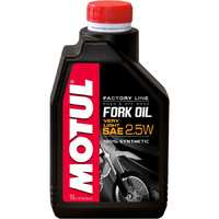 MOTUL 2.5W FACTORY LINE VERY LIGHT 1L FORK OIL