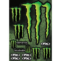 FACTORY EFFEX FX MONSTER ENERGY STICKER SHEET XL