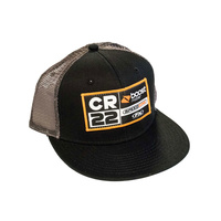 FACTORY EFFEX CR22 TEAM BLACK / GREY SNAPBACK
