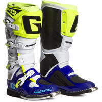 GAERNE 2019 SG-12 WHITE/BLUE/FLO YELLOW BOOTS