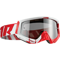 THOR SNIPER BARRED RED/WHITE GOGGLE