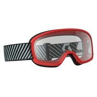 SCOTT BUZZ RED CLEAR KIDS GOGGLES