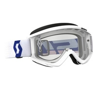 SCOTT RECOIL XI WHITE/RED CLEAR GOGGLES
