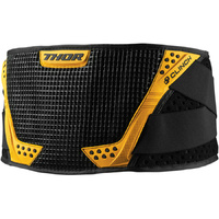 THOR CLINCH BLACK/YELLOW KIDS KIDNEY BELT