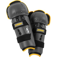 THOR SECTOR GP CHARCOAL/YELLOW CE KNEE GUARDS