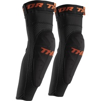 THOR COMP XP BLACK/ORANGE ELBOW GUARDS