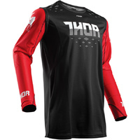 THOR 2018 PRIME FIT ROHL RED/BLACK JERSEY