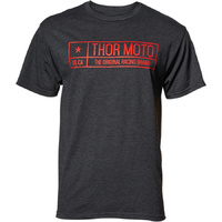 THOR ESTABLISH TEE CHARCOAL HEATHER