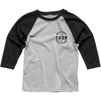 THOR OUTFITTERS BLACK 3/4 KIDS TEE