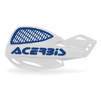 ACERBIS UNIKO WHITE/BLUE VENTED HANDGUARDS