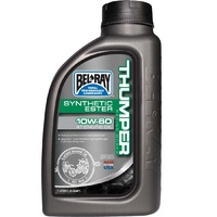 BELRAY 1 LITRE THUMPER SYNTHETIC ESTER 4T 10W-60 ENGINE OIL
