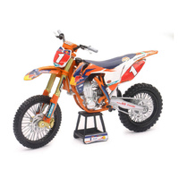 NEWRAY RED BULL FACTORY RACING TEAM KTM SX-F 450 RYAN DUNGEY 1:10 TOY