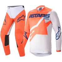 ALPINESTARS 2021 RACER BRAAP GREY/ORANGE KIDS GEAR SET
