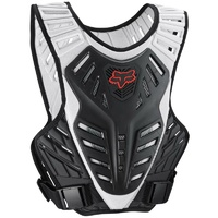 FOX TITAN RACE SUBFRAME BLACK/SILVER BODY ARMOUR