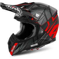 AIROH AVIATOR 2.2 STYLING RED/MATTE BLACK HELMET