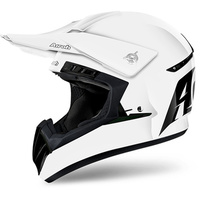AIROH 2018 SWITCH SOLID GLOSS WHITE HELMET