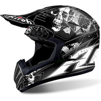 AIROH 2018 SWITCH SCARY MATTE BLACK HELMET