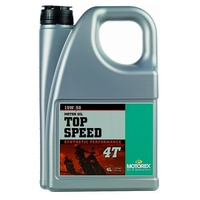 MOTOREX 4L 15W50 4T TOP SPEED MC 4 STROKE OIL