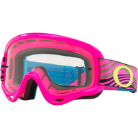 OAKLEY XS O-FRAME WIND TUNNEL PINK CLEAR GOGGLES