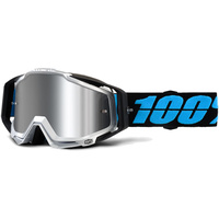 100% PERCENT RACECRAFT + DAFFED GOGGLES