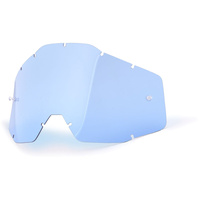 100% RACECRAFT, ACCURI & STRATA BLUE LENS