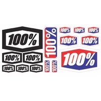 "100% 8 X 4"" DECAL STICKER SHEET"