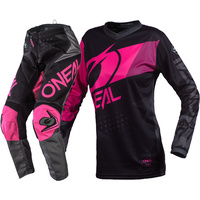 ONEAL 2020 ELEMENT FACTOR BLACK/PINK KIDS GEAR SET