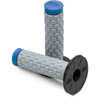 PRO TAPER DUAL COMPOUND PILLOW TOP BLUE GRIPS
