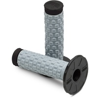 PRO TAPER PILLOW TOP DUAL COMPOUND BLACK GRIPS
