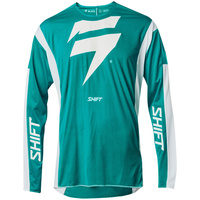 SHIFT 2020 3LACK RACE GREEN/WHITE JERSEY