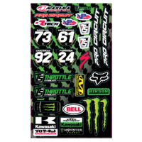 THROTTLE SYNDICATE PRO CIRCUIT TEAM UNIVERSAL DECAL SHEET