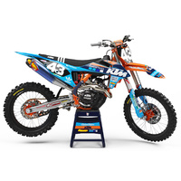 THROTTLE SYNDICATE TLD KTM 19 WASHOUGAL LIMITED EDITION TEAM KIT - BLUE